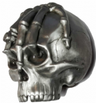 Hand on Skull Belt Buckle + display stand. Code BC7